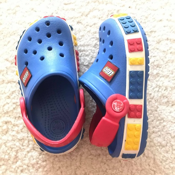 Crocs Crocband Lego Backstrap Clog Blue